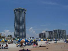 We honeymooned here at Peck Plaza, in Daytona Beach