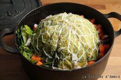 Recette Chou farci - La cuisine familiale : Un plat, Une recette