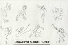 Living Lines Library: The Iron Giant - Character: Hogarth Hughes / Model Sheets Animation Sketches, Cartoon Sketches, Animation Reference, Anatomy Reference, Drawing Reference, Cartoon Art, Character Model Sheet, Character Poses, Kid Character