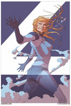 Sue Storm by Dave Rapoza