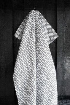 Athens grey kitchen towel  #nordicdesigncollective
