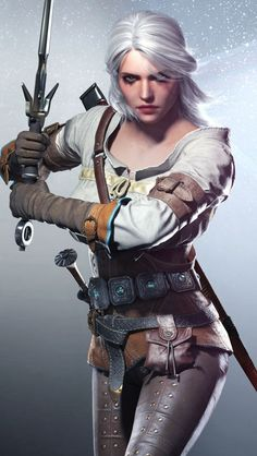Ciri (Cirilla) – The Witcher 3: Wild Hunt