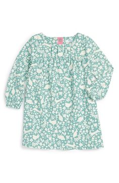 Free shipping and returns on Mini Boden 'Super Soft' Print Long Sleeve Dress (Baby Girls & Toddler Girls) at Nordstrom.com. A supersoft cotton-jersey dress in a delightful pattern provides an adorable everyday option that can be easily layered.