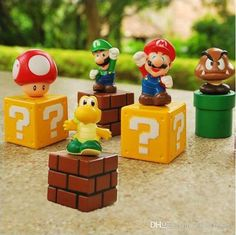Newest 2int PVC Super Mario Wall Bros Luigi Cartoon & Anime & Movies Accessories | Buy Wholesale On Line Direct from China
