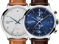 Fresh Release of the new Christopher Ward C3 Malvern Chronograph MK III & C5 Malvern Automatic MK III Watches. The brand's more affordable and dressy timepieces with a few color combinations to choose from... Read about them: http://www.ablogtowatch.com/christopher-ward-c3-malvern-chronograph-mk-iii-c5-malvern-automatic-mk-iii-watches/ #ablogtowatch