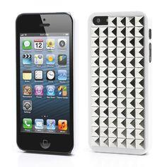 Köp Nitskal iPhone 5 5S Block vit silver online  http    e09d2cd561d33