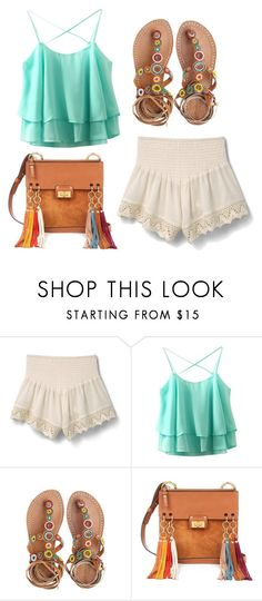 """#Exotic summer"" by martina-stevkovska ❤ liked on Polyvore featuring MANGO, Laidback London and Chloé"