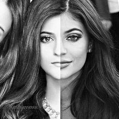 after, beautiful, before, before and after, flawless, girl, girly, gorgeous, instagram, kendall jenner, khloe kardashian, kim kardashian, kourtney kardashian, kylie jenner, lips, love, mac, pretty, stunning
