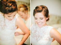 Micaela and Tristen | Southern Highlands - lovely hairstyle