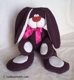 """""""Jenko"""" : doudou lapin  pour petits et grands"""