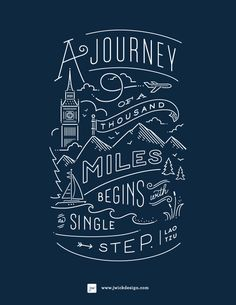 I like how the typeface feels whimsical which goes nicely with the adventure.