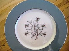 Lenox Kingsley Salad Plates Excellent Vintage Lenox by ChinaGalore, $42.00
