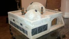 Body of Work. Star Wars inspired Mos Eisley, Korriban and now Alien terrain - Hirst Arts Game Tables, Table Games, Star Wars Room, Star Wars Art, Custom Stuff, Hirst Arts, Dungeon Tiles, Star Wars Models, Gamers Anime