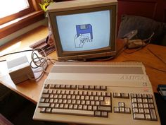 Commodore Amiga 500 Computer