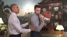 """Watch """"The Mentorship"""" starring President Barack Obama & @stephencurry30 then become a #MentorIRL at Mentor.gov! by nba"""