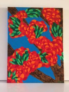 """Saatchi Art Artist Grace Douglas; Painting, """"Balloons Tree"""" #art"""