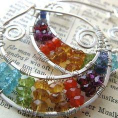 Gallery | JewelryLessons.com Could be adapted for chakras.