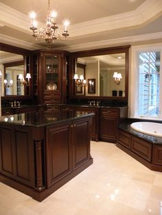 Cabinets on pinterest cherry cabinets cherry kitchen cabinets and