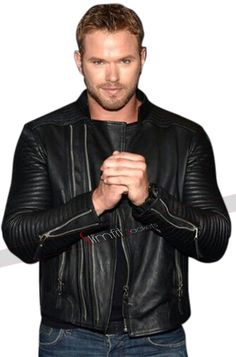 Buy This Mens Slimfit Kellan Lutz Marlon Brando Biker Black Leather Jacket, At Lowest Price With Free Worldwide Shipping Visit Our Online Store.