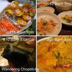 Wandering Chopsticks: Vietnamese Food, Recipes, and More: 100 Vietnamese Foods to Try  46 out of 100 isn't too bad!