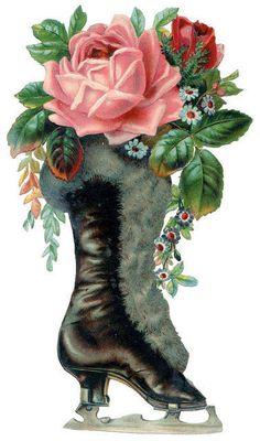 Flower: Vintage Roses Notepaper Firefox Persona Renaissance Rose ...