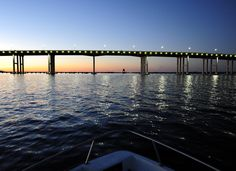The Biloxi~Ocean Springs Bridge  Biloxi, Mississippi
