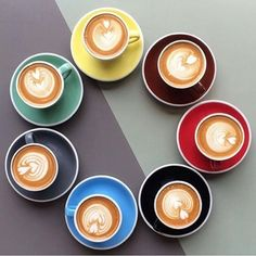Full range of Acme cup colors. No surprise that Acme cups are used by coffee shops worldwide. Checks off all the boxes for design, durability, function, style, etc..