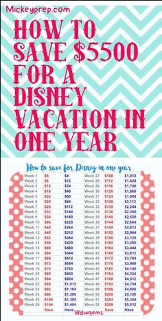 disney world savings plan