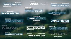 Lower Thirds Pack II by Omegan After Effects CS4 and Above No plugins required Very easy to use Full HD resolution (1080p) Customizable (color, size, duration)