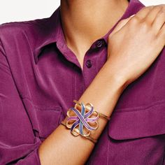 Purple Peace Infinity Power Cuff. Respect your beauty with Avon Speak Out Against Domestic Violence. Shop Purple Peace products like this one that give a voice to those who suffer in silence and help create the path to freedom. Avon will donate 20% of net profits from domestic violence fundraising products—up to $500,000 in 2017—to the Avon Foundation for Women to support Speak Out Against Domestic Violence programs across the U.S.