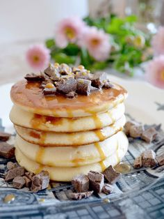 Perfect Pancakes for easy Sunday Mornings - find the recipe on the blog
