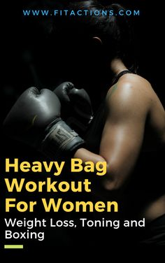Boxing Workouts for women are a great way to lose weight, get lean and fit – fast. This boxing workout I created looks simple but is actually very technical as it teaches you how to punch while moving. Source by fitactions Boxing Workout With Bag, Punching Bag Workout, Heavy Bag Workout, Boxing Boxing, Boxing For Fitness, Women Boxing Workout, Boxing Basics, Boxing Drills, Ladies Fitness