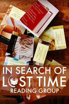 Read through In Search of Lost Time by Marcel Proust with a group of ambitious, literary enthusiasts. We have a reading schedule, private Facebook group, and a solid community to carry you through this 4,215 page monster. Join us!