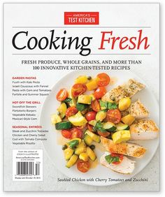America's Test Kitchen Cooking Fresh 2015 Special Issue - New Releases