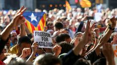 Spanish police arrested top-ranking Catalan officials including the region's junior economy minister Josep Maria Jove, as Madrid launched a crackdown on Catalonia over the upcoming Independence referendum. Financial Times, Financial News, Stock Market Quotes, La Sede, National Police, Declaration Of Independence, Catalan Independence, Strength