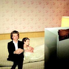 Steve Harrington meets Eleven - Joe Keery and Millie Bobby Brown from Stranger Things