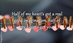 john mayer - half of my heart