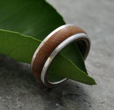 Tierra Wood Ring  handmade wood ring with by naturalezanica, $222.00