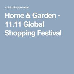 Home & Garden - 11.11 Global Shopping Festival