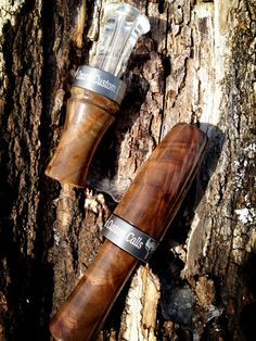 Walnut goose and duck call set Goose Calls, Duck Calls, Duck Hunting, Hunting Clothes, Game, Wood Turning, Ducks, Fishing, Sport
