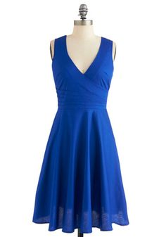 Beguiling Beauty Dress in Blue, #ModCloth