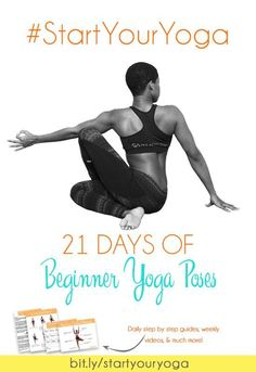 Yoga for beginner: #StartYourYoga is a 21 day challenge to get you started on your home yoga practice in 2016. Click through for more information on how to join!