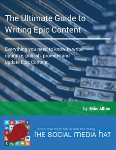 """Click Here to receive your free copy of """"The Ultimate Guide to Writing Epic Content."""""""
