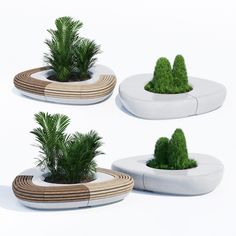 models: Urban environment - Tree line metalco scandinavian palm tree tropical plants outdoor metal street bench furniture radius arc circle round Bench Designs, Cool Designs, Street Furniture, Bench Furniture, 3d Model Architecture, Landscape Elements, Landscape Design, Model Tree, Wall Seating