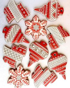 24 Chewy and Cute Christmas Cookies - Decomagz Cute Christmas Cookies, Xmas Cookies, Fun Cookies, Christmas Desserts, Christmas Treats, Christmas Baking, Holiday Treats, Chewy Gingerbread Cookies, Cupcake