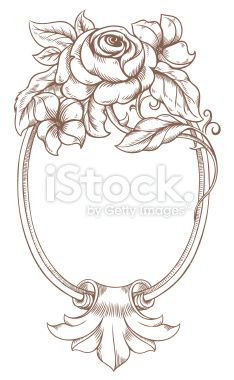 Frame Baroque Royalty Free Stock Vector Art Illustration