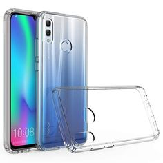 Amazon.com: Olixar Bumper Case Compatible with Huawei P Smart 2019 - Hard Tough Protective Cover ExoShield - Drop + Shock Protection - Slim Transparent Design - Clear: Gateway