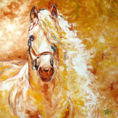 Horse Paintings by Marcia Baldwin