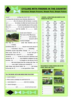 Verb tenses interactive and downloadable worksheet. You can do the exercises online or download the worksheet as pdf.