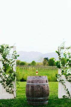 Wedding Venue, Veritas Vineyard & Winery - Virginia Wedding  http://caratsandcake.com/cristinandnima